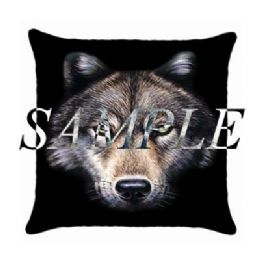 Wolf Cushion, Wolves Cushion, Personalised Wolf cushions, Wolf Themed Gifts, Personalised Wolf Wolves Gifts